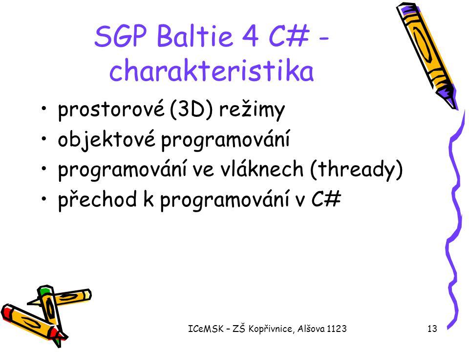 SGP Baltie 4 C# - charakteristika