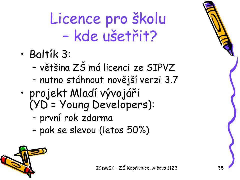 Licence pro školu – kde ušetřit