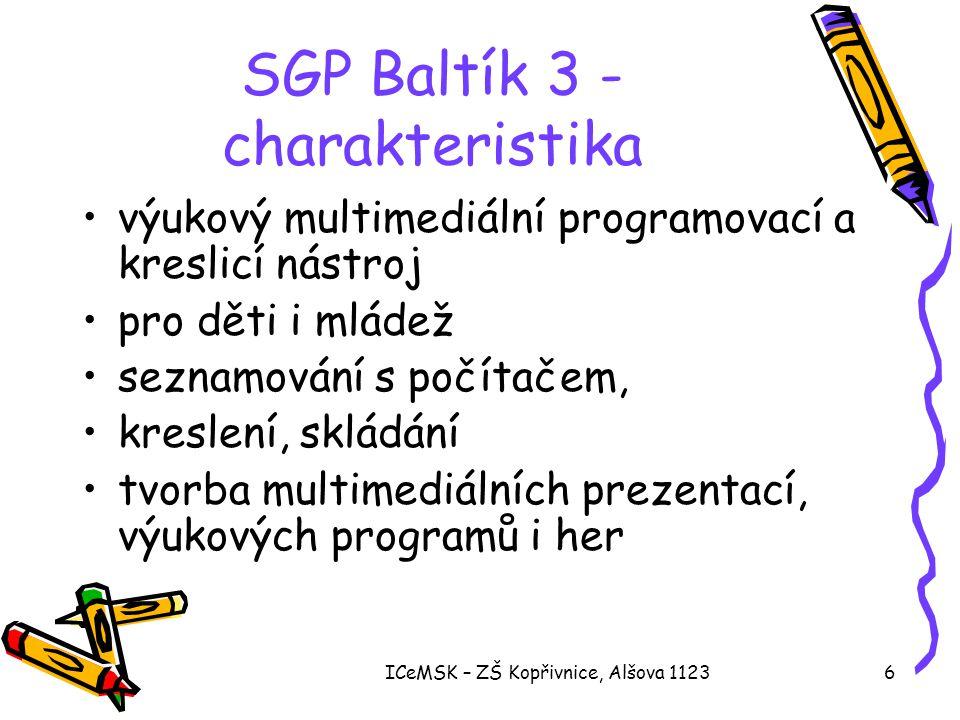 SGP Baltík 3 - charakteristika