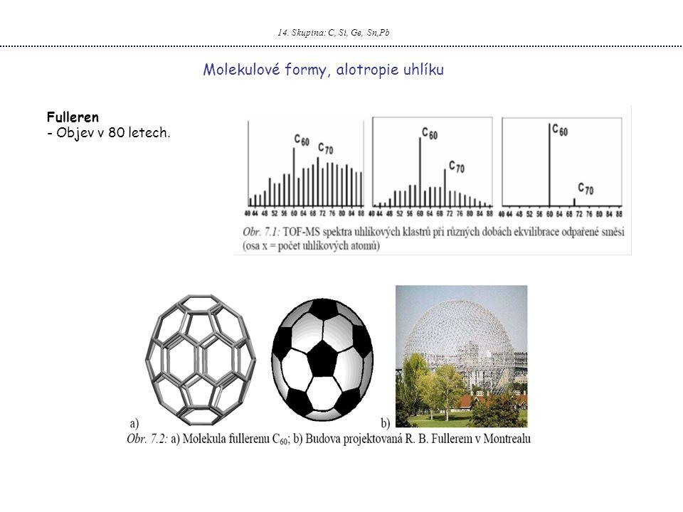 Molekulové formy, alotropie uhlíku