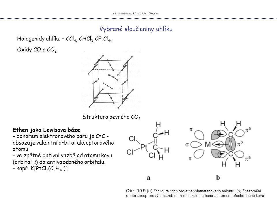 Vybrané sloučeniny uhlíku
