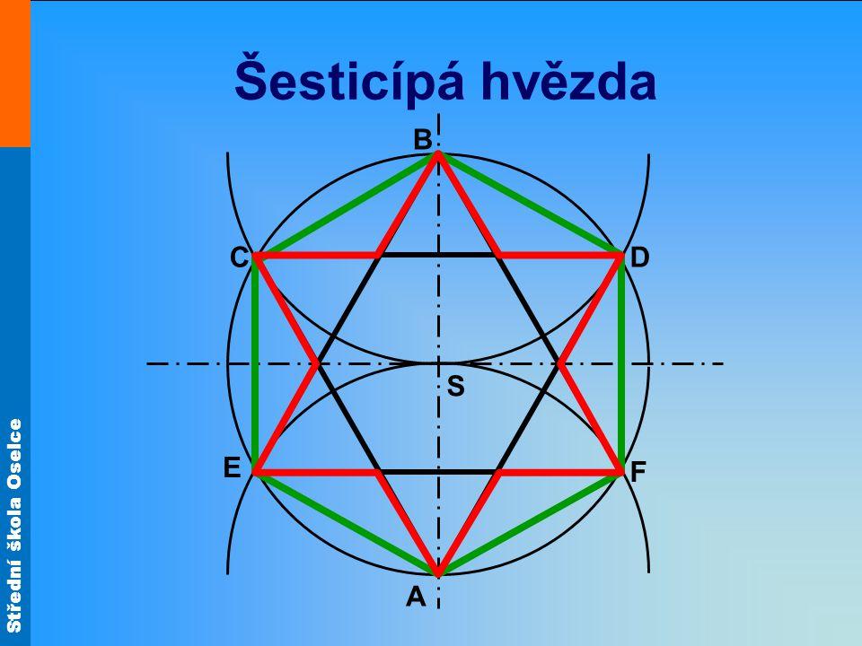 Šesticípá hvězda B C D S E F A