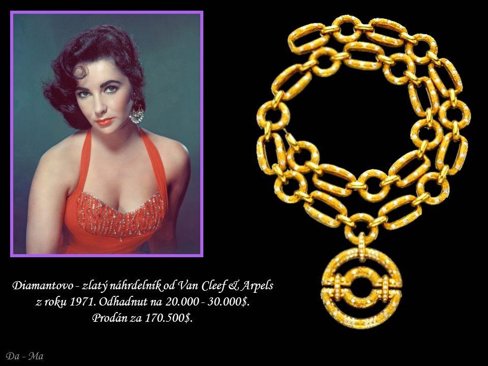 Diamantovo - zlatý náhrdelník od Van Cleef & Arpels z roku 1971