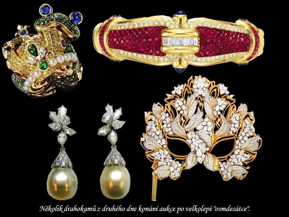 Několik drahokamů z druhého dne konání aukce po velkolepé osmdesátce .