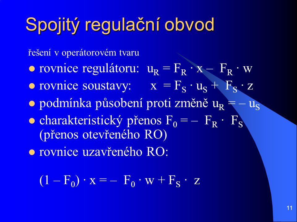 Spojitý regulační obvod