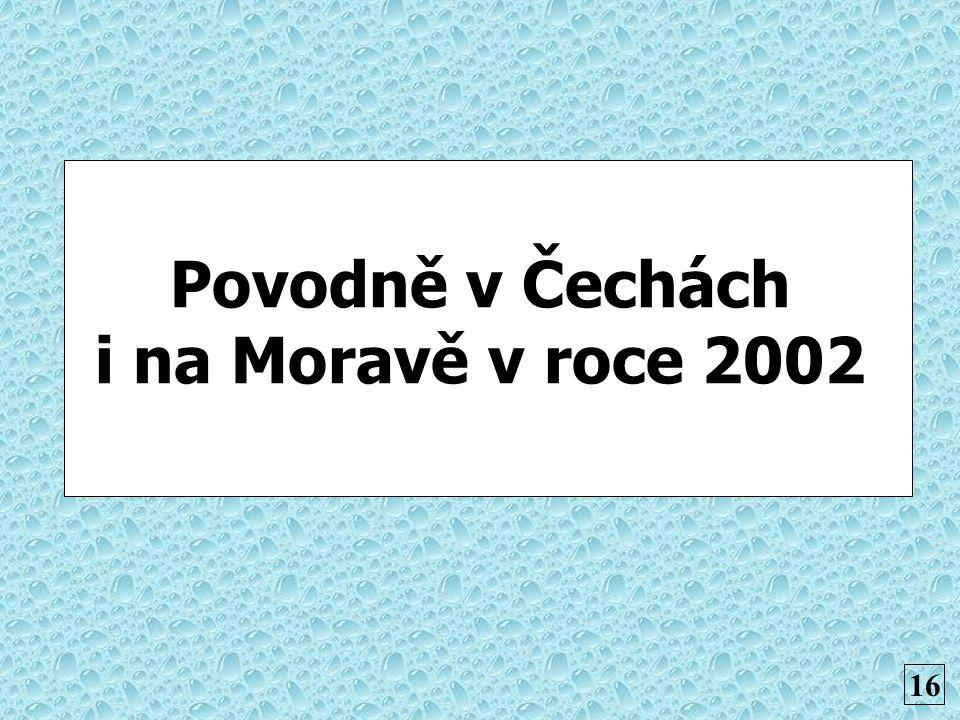 Povodně v Čechách i na Moravě v roce 2002