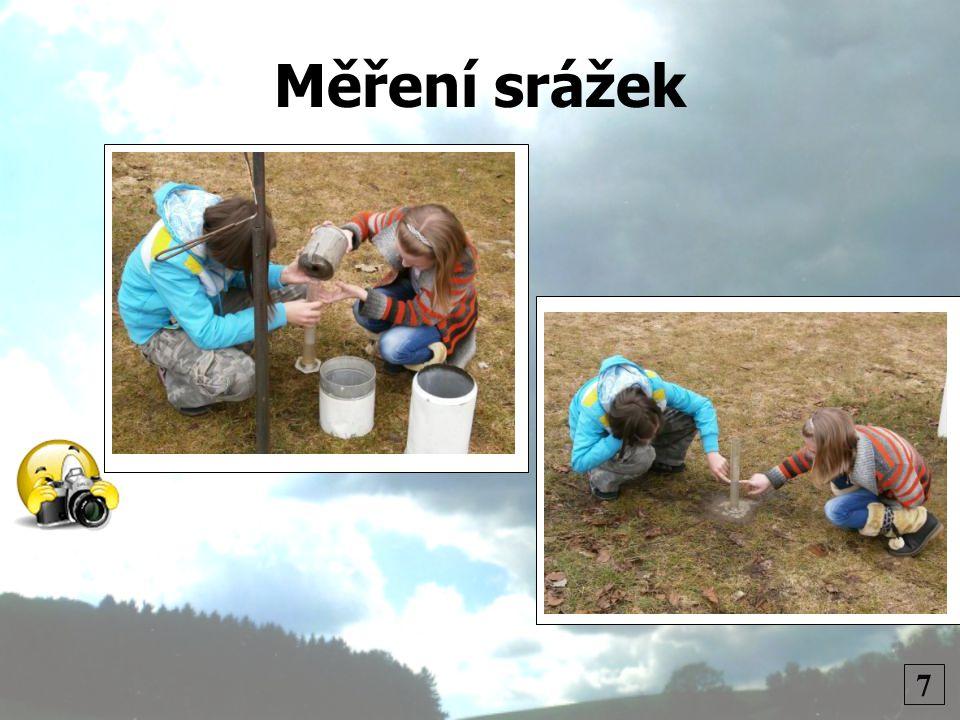 Měření srážek 7