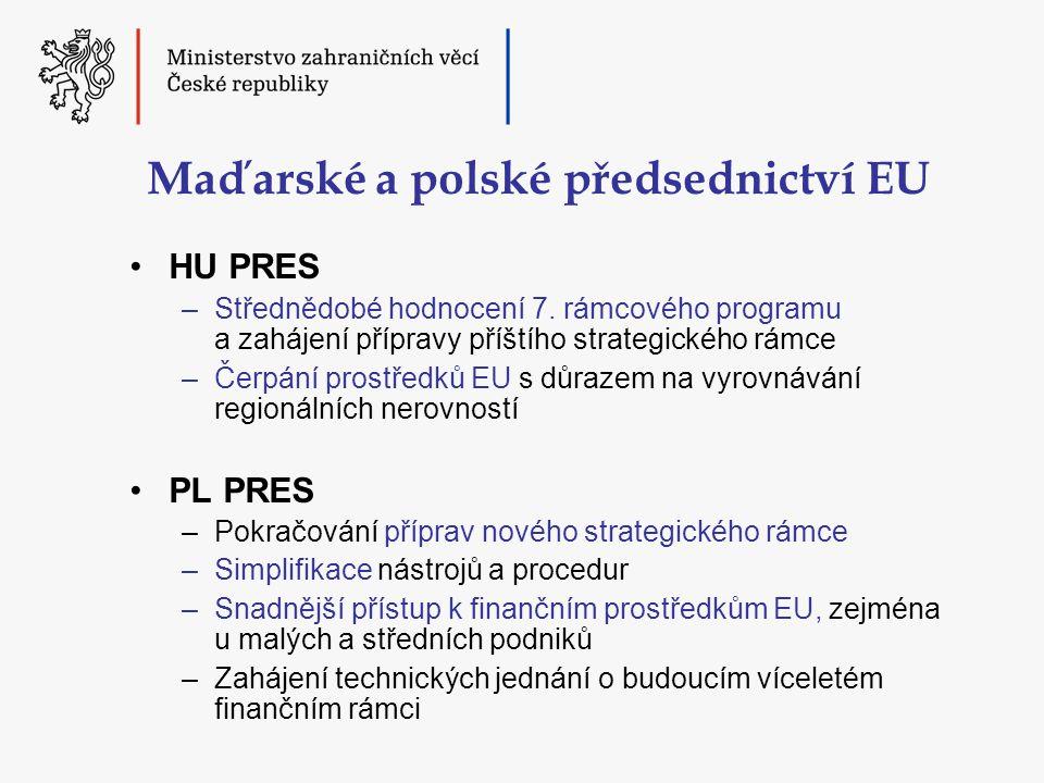 Maďarské a polské předsednictví EU