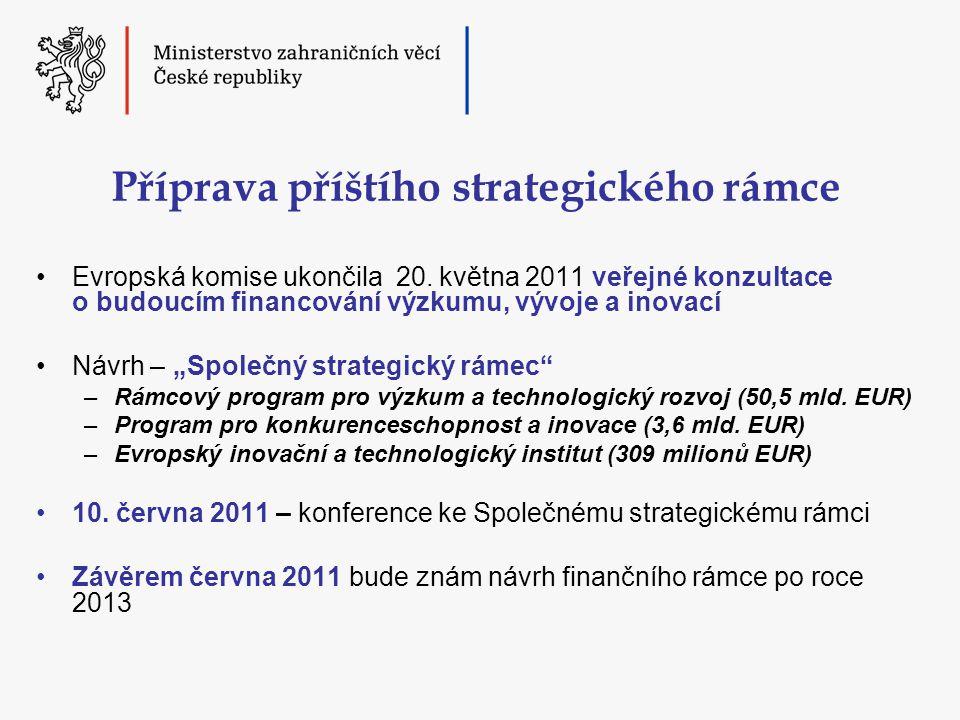 Příprava příštího strategického rámce