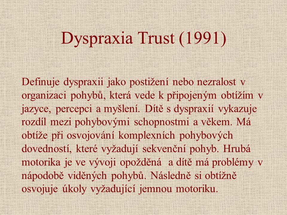 Dyspraxia Trust (1991)
