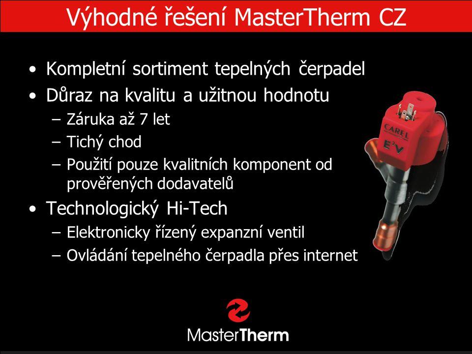 Výhodné řešení MasterTherm CZ