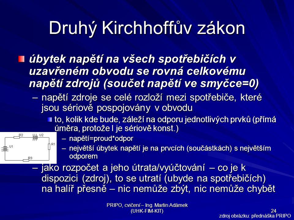 Druhý Kirchhoffův zákon