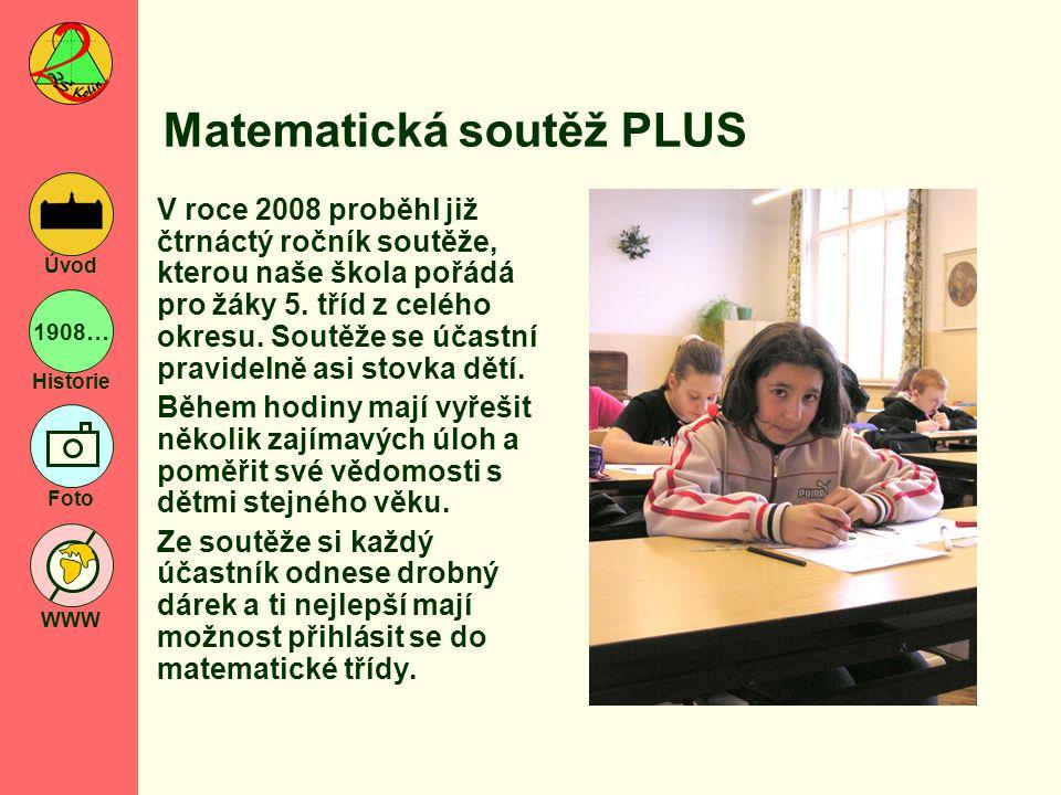 Matematická soutěž PLUS