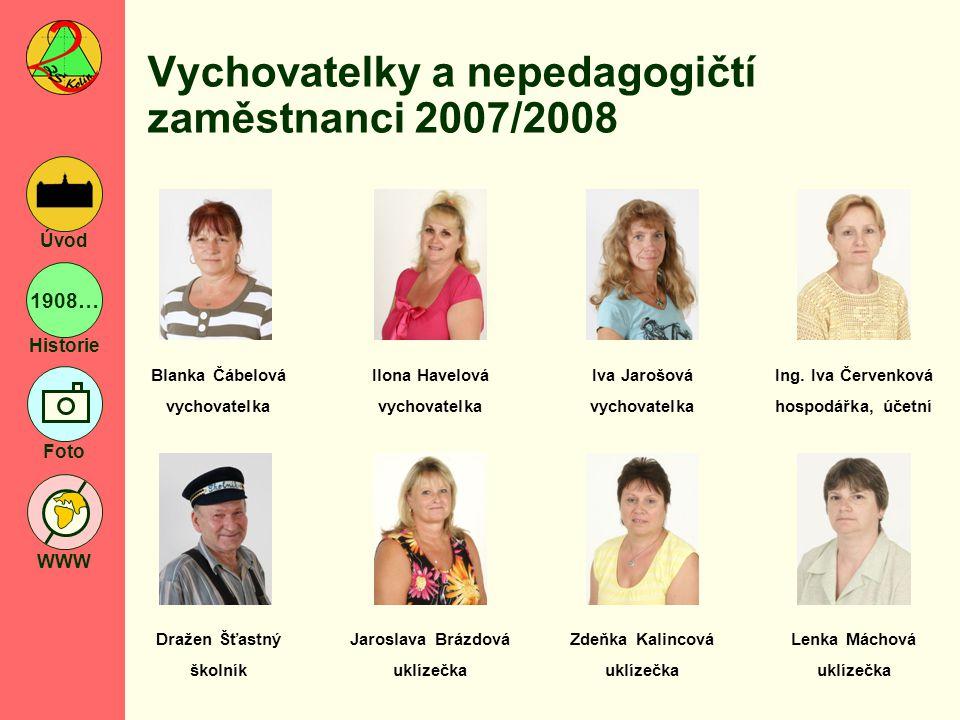 Vychovatelky a nepedagogičtí zaměstnanci 2007/2008