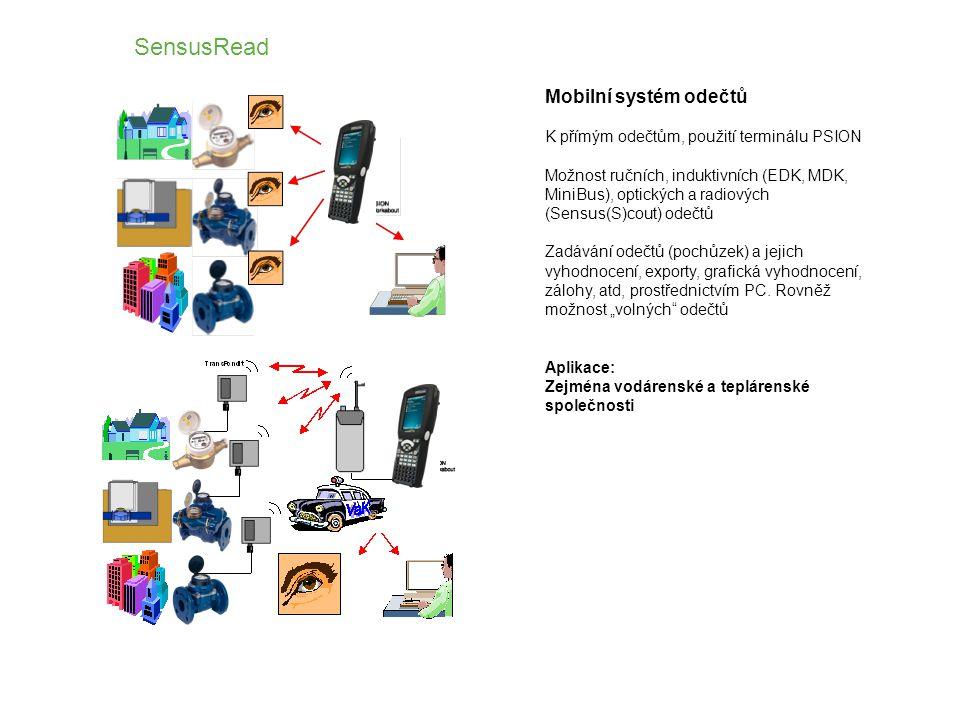 SensusRead Mobilní systém odečtů