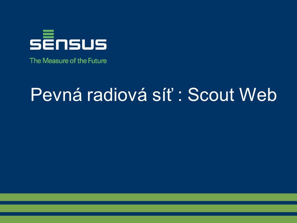 Pevná radiová síť : Scout Web