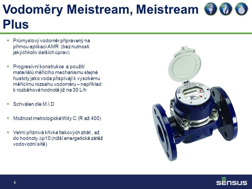 Vodoměry Meistream, Meistream Plus