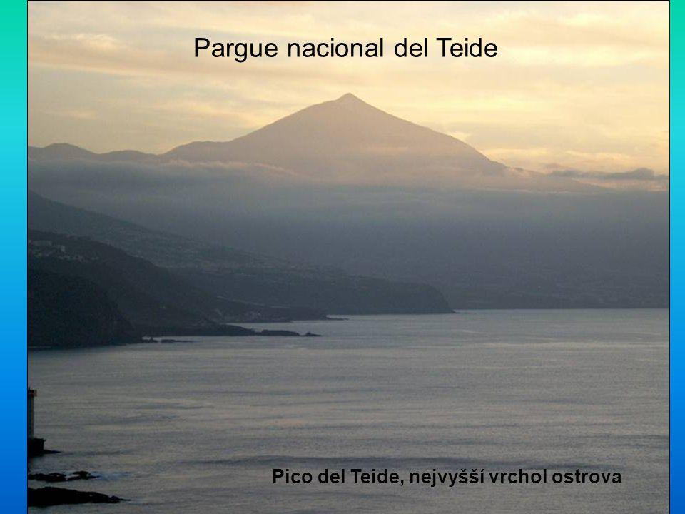 Pico del Teide, nejvyšší vrchol ostrova