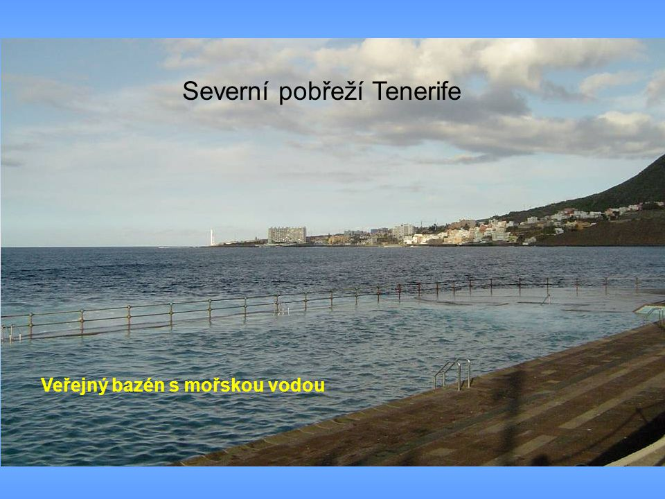 Severní pobřeží Tenerife