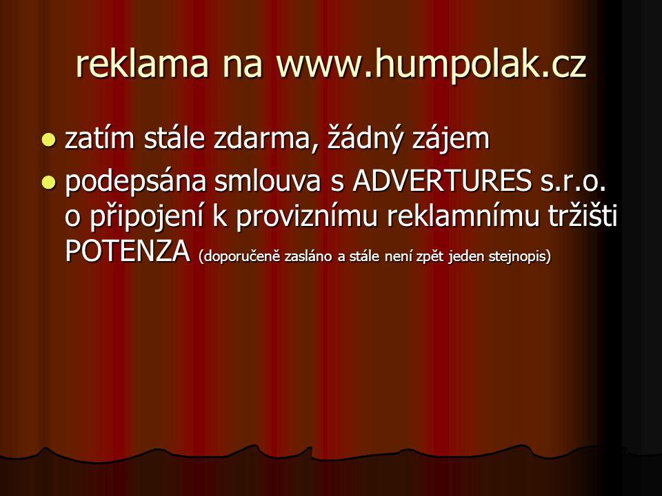 reklama na www.humpolak.cz
