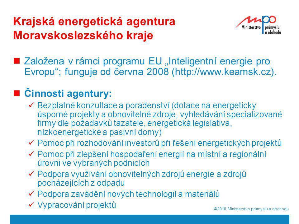 Krajská energetická agentura Moravskoslezského kraje