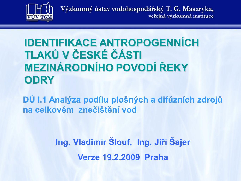 Ing. Vladimír Šlouf, Ing. Jiří Šajer