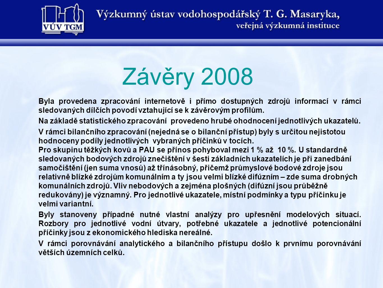 Závěry 2008