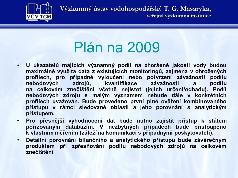 Plán na 2009