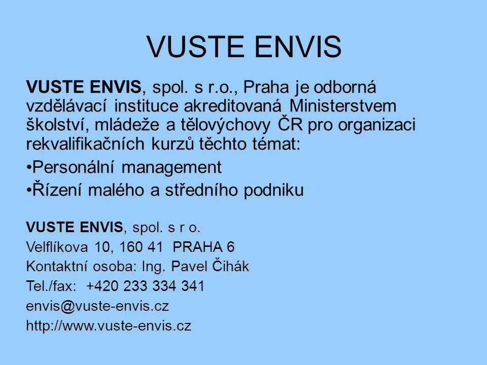 VUSTE ENVIS