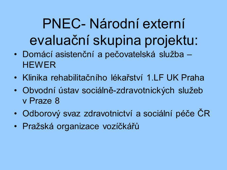PNEC- Národní externí evaluační skupina projektu: