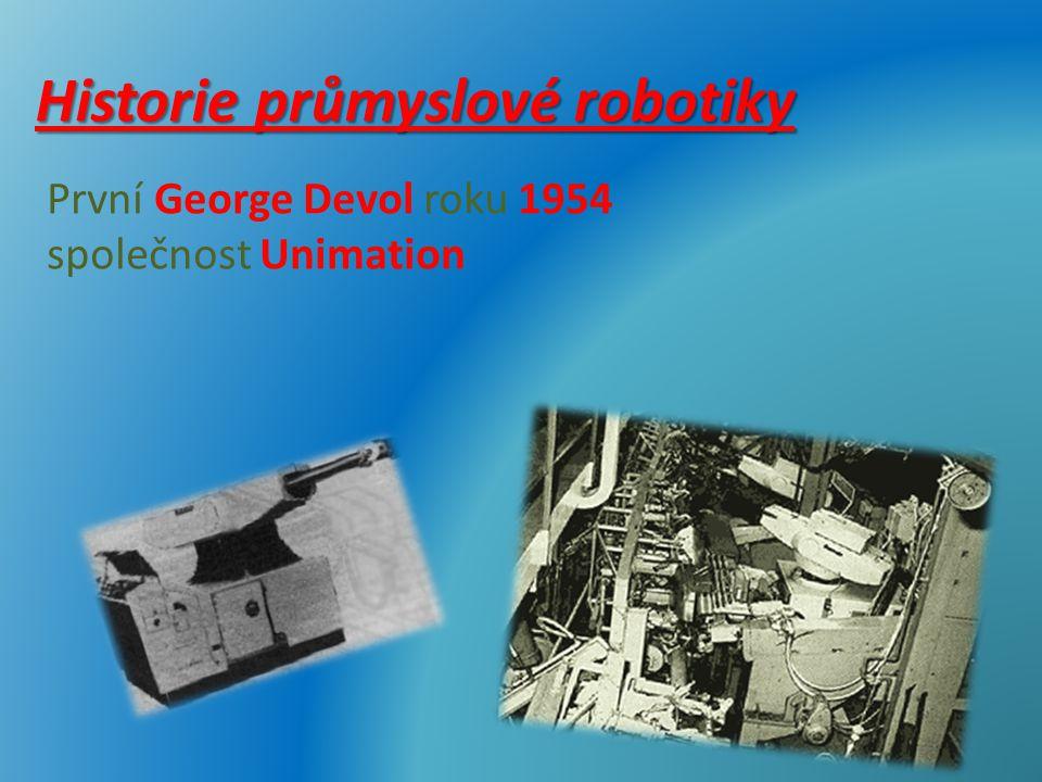 Historie průmyslové robotiky