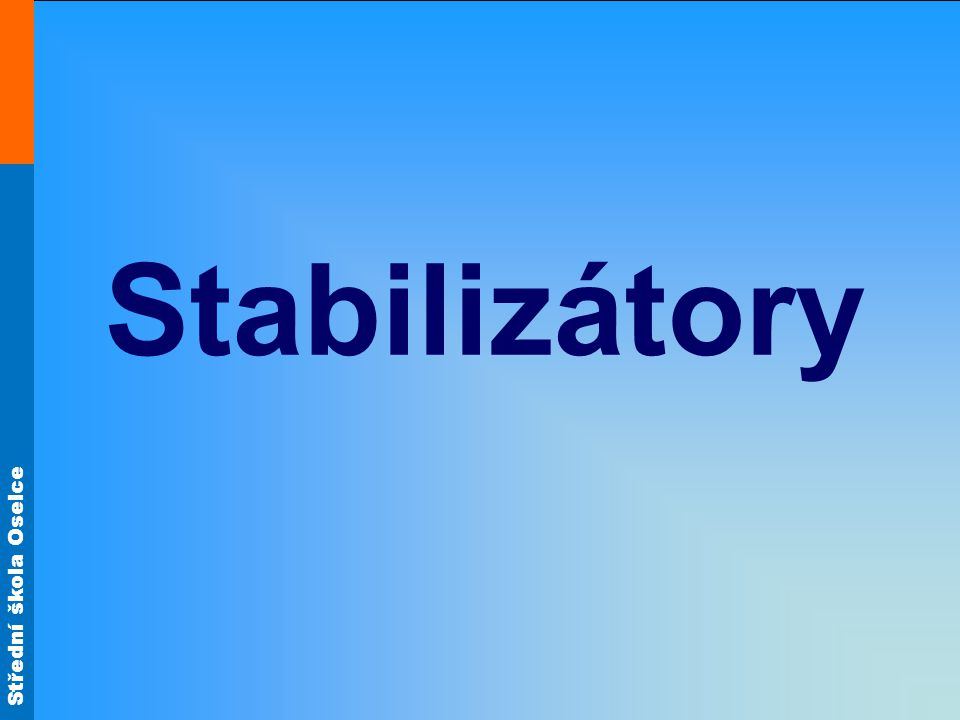 Stabilizátory
