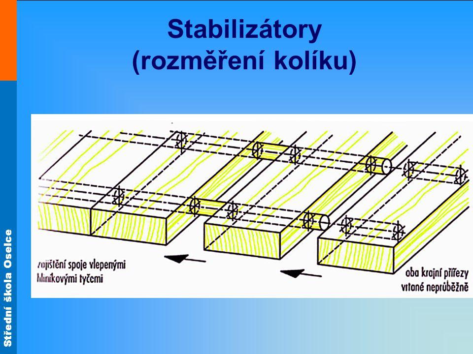 Stabilizátory (rozměření kolíku)
