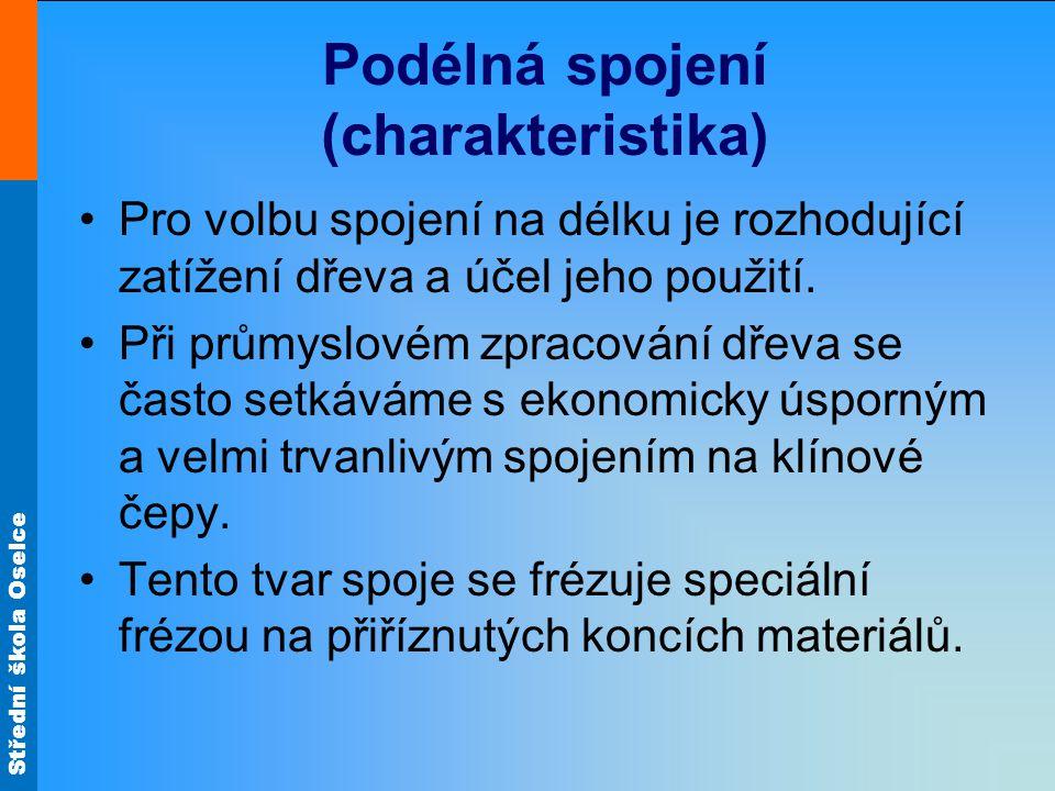 Podélná spojení (charakteristika)
