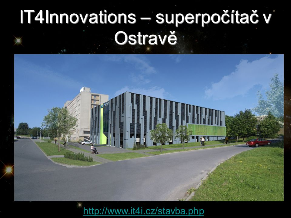 IT4Innovations – superpočítač v Ostravě