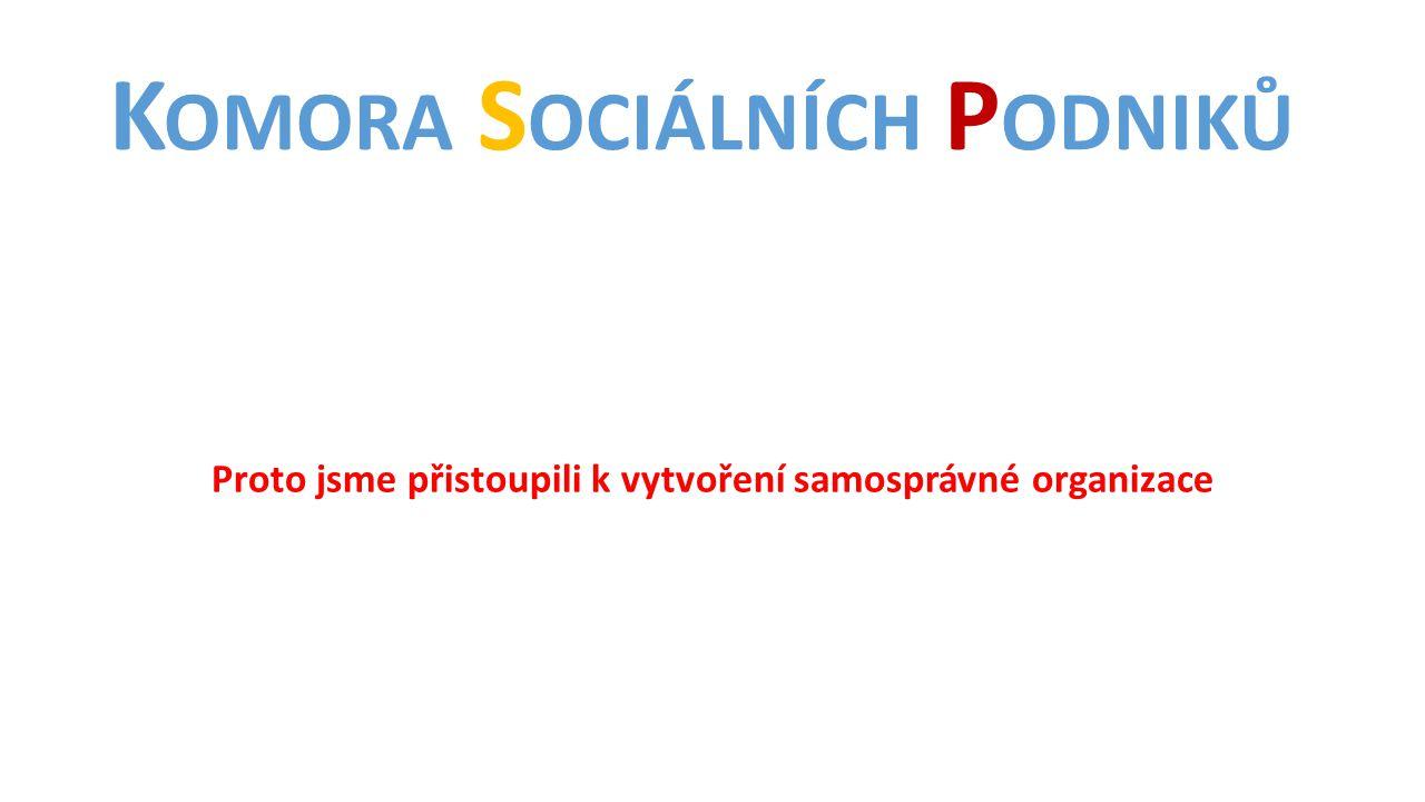 Komora Sociálních Podniků