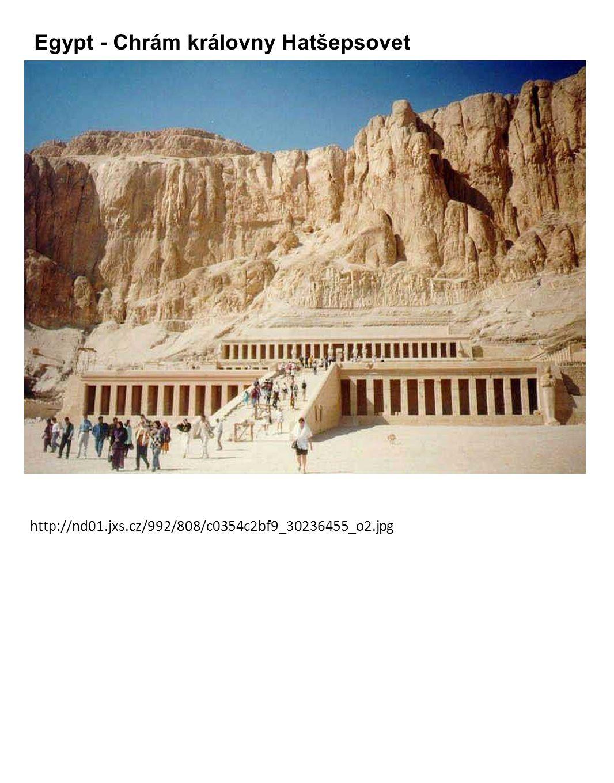Egypt - Chrám královny Hatšepsovet