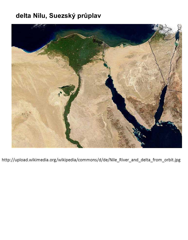 delta Nilu, Suezský průplav