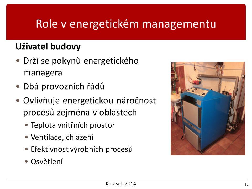 Role v energetickém managementu