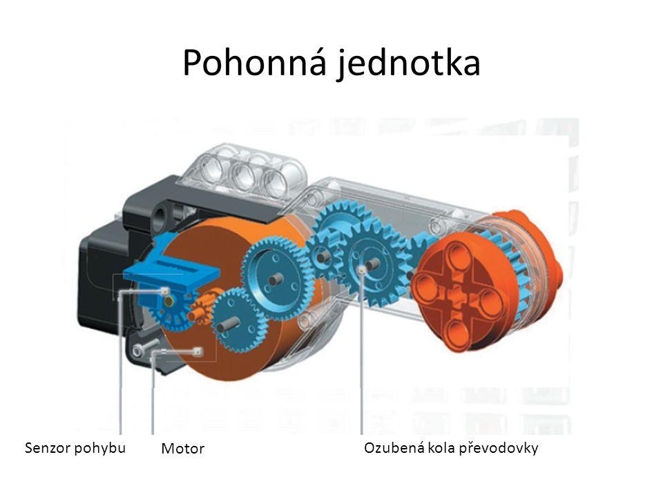 Pohonná jednotka Senzor pohybu Motor Ozubená kola převodovky