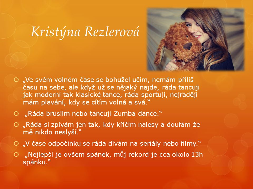 Kristýna Rezlerová