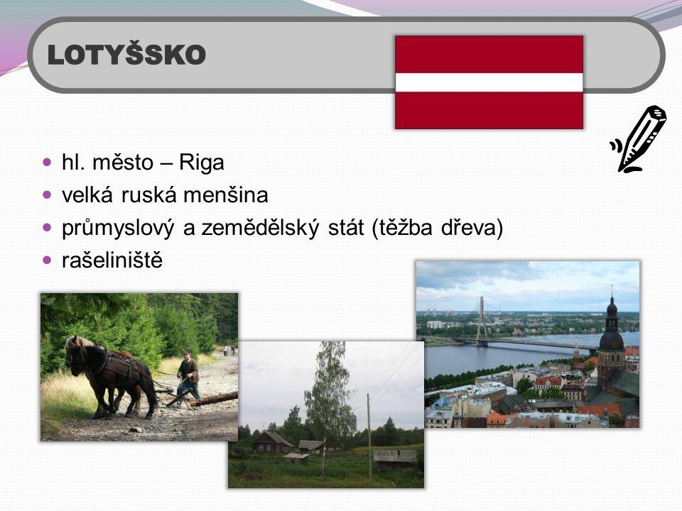 LOTYŠSKO hl. město – Riga velká ruská menšina