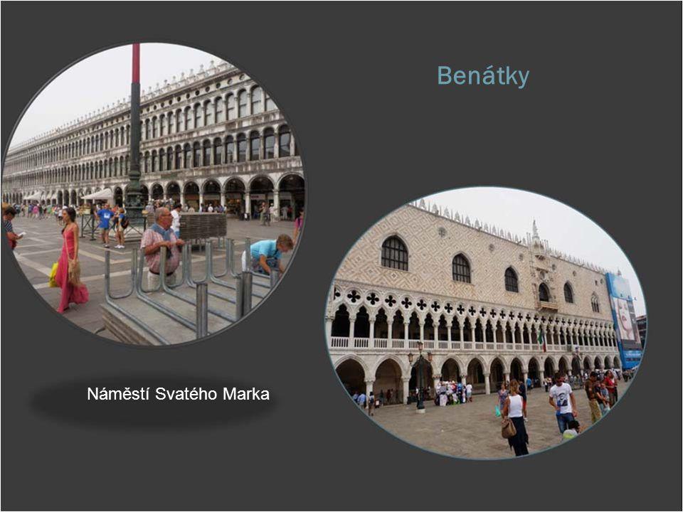 Benátky Náměstí Svatého Marka