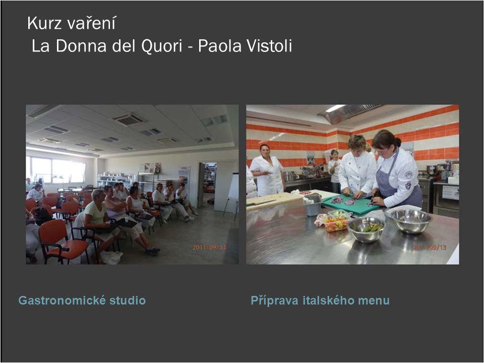 Kurz vaření La Donna del Quori - Paola Vistoli