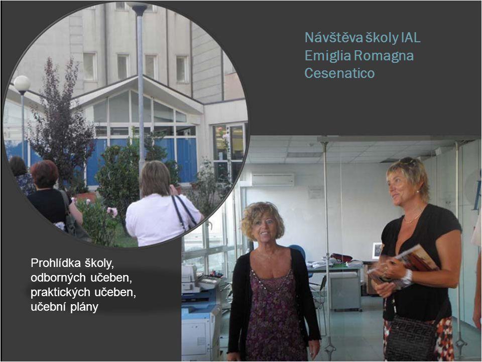 Návštěva školy IAL Emiglia Romagna Cesenatico