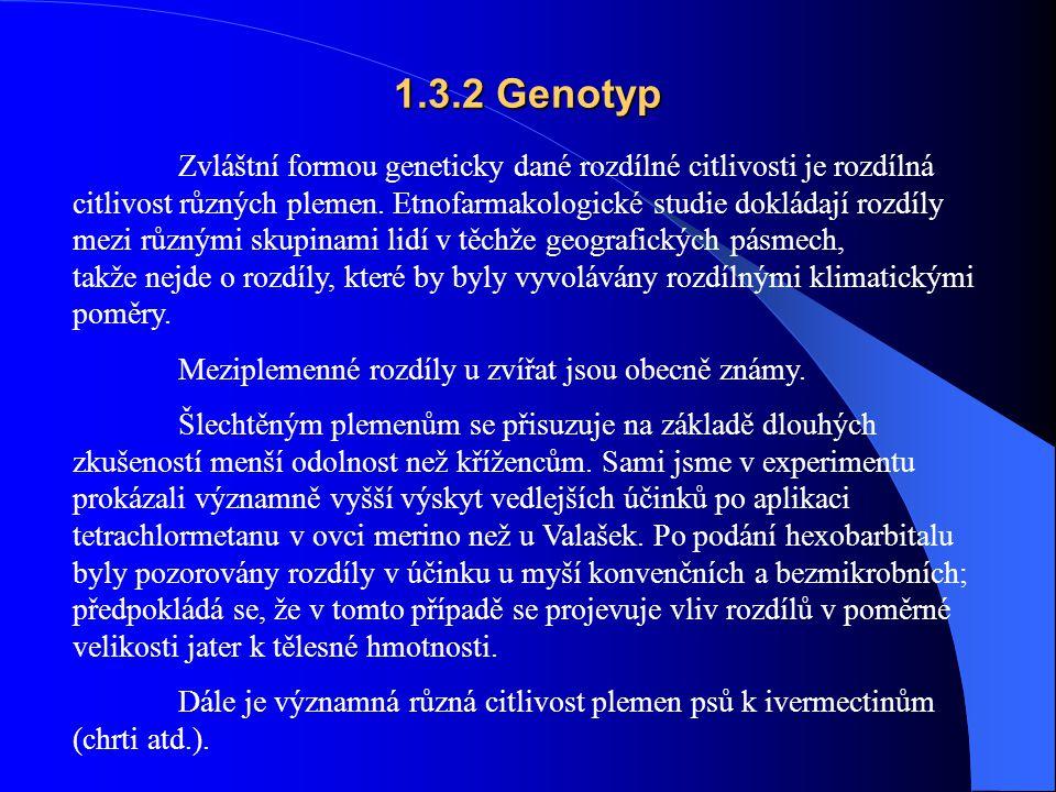 1.3.2 Genotyp