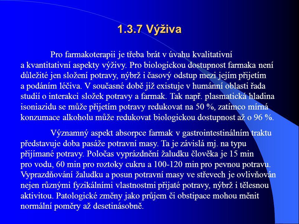 1.3.7 Výživa