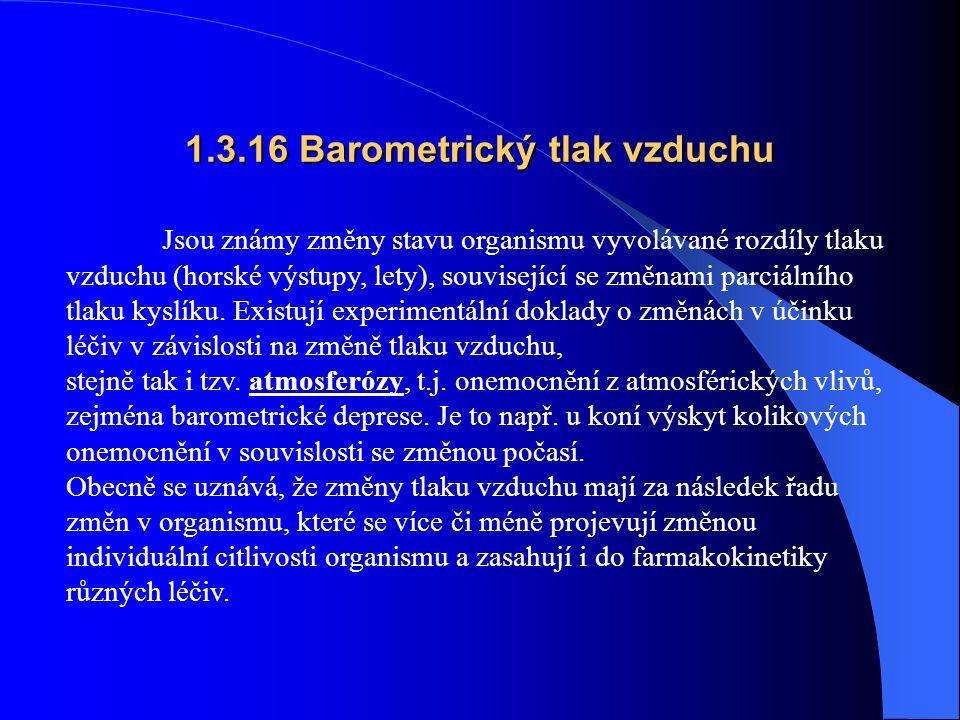 1.3.16 Barometrický tlak vzduchu