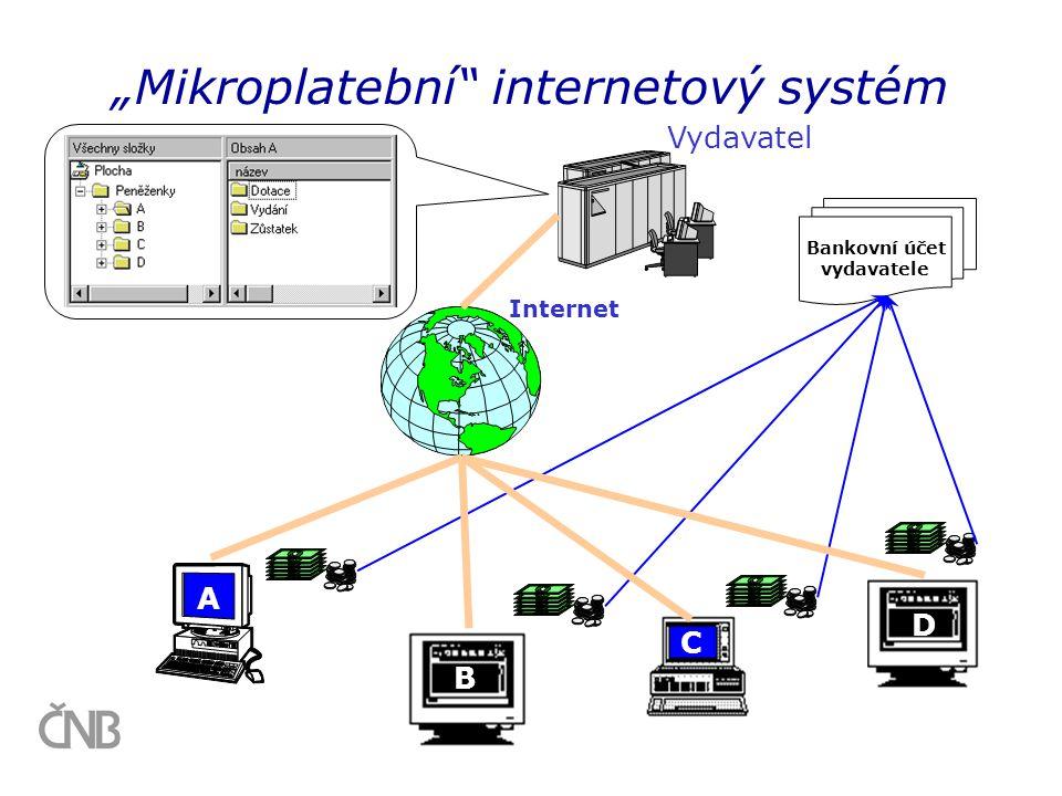 """""""Mikroplatební internetový systém"""