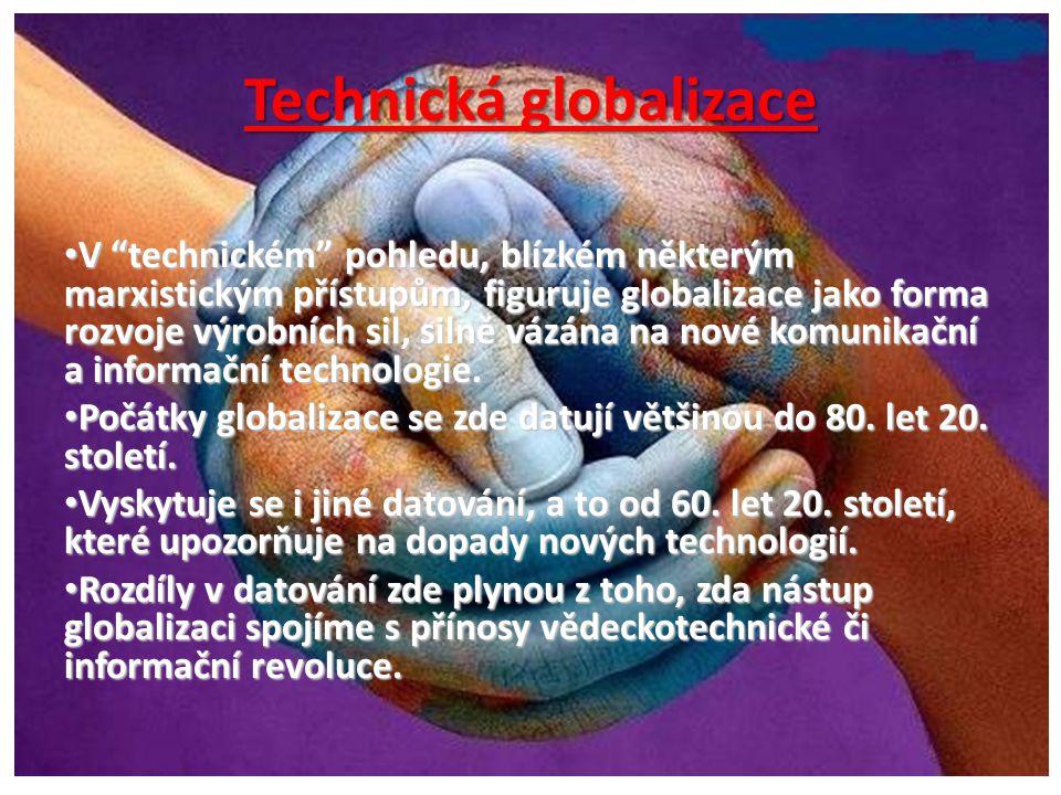 Technická globalizace